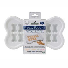 Freezy Pups Kit, $17, now featured on Fab. Thought I would be getting this for my puppy niece...not so much at $17 a tray.