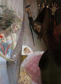 Sleeping Beauty by Nadezhda Illarionova