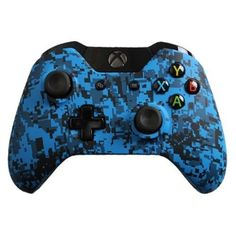 Custom Xbox One Controller with Blue Urban Shell Brand New Xbox One Controller   eBay