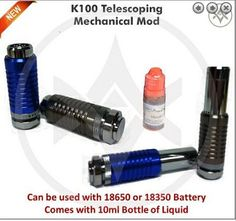 Vapor Joes - Daily Vaping Deals: BLOWOUT: K100 Mod + Bottle of Juice + Free Shipping - $23.99