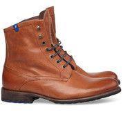 Bruine Floris van Bommel schoenen 10751 sneakers