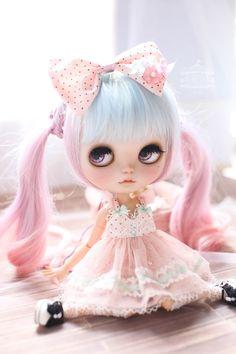 Jujusblyte Dream Of Rainbow Pink Ver By Midsummercircus On Etsy Custom Dolls