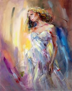 Anna Razumovskaya Deep Desire painting | framed paintings for sale