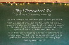 Why I Homeschool #5 by Encyclopedia Homeschoolica, via Flickr