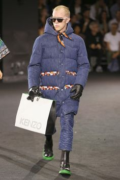 Kenzo and H&M Brought the Good Vibes to Their Vibrant, Musical Runway Show - Fashionista
