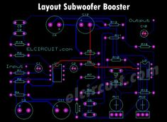 Subwoofer booster circuit is used to enhancing or boosting or increase the subwoofer amplifier, but it also can improve the quality of the bass sound on an amplifier or High Power Amplifier. Best Subwoofer, Powered Subwoofer, Circuit Board Design, Satellite Speakers, Audio Amplifier, Beautiful Nature Wallpaper, Digital Audio, Diy Electronics, Electronic Circuit