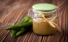 Salsa de sriracha verde