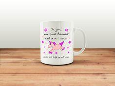 Mug, tasse a café, tasse a thé, prince charmant, licorne, chope, mug citation, tasse céramique, idée cadeau pour lui ou pour elle de la boutique SublimAtelier sur Etsy