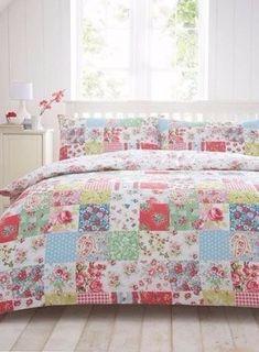 Floral patchwork quilts 10
