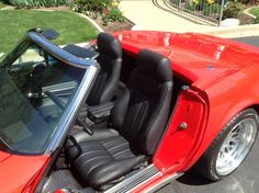 Mrmikes fiero seats in a vette do it yourself upholstery kits we rick ingram of st joseph il installs mrmikes upholstery kits he also provides solutioingenieria Gallery