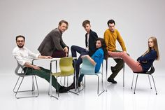 designs of the year 2014 category winners announced (PRO chair family – designed by konstantin grcic, furniture category winner) Corporate Portrait, Business Portrait, Group Pictures, Team Photos, Group Photography, Portrait Photography, Corporate Photography, Family Portraits, Family Photos
