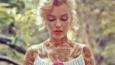 Artist adds tattoos to transform popular celebrity images - TODAY.com
