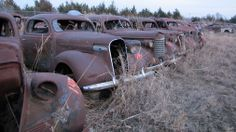 A collection of over 200 historic cars hidden from public…(Sean Kinney - Google+)
