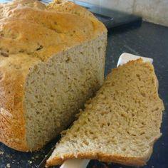 Pão de Biomassa Sem Glúten e sem Lactose - Máquina de Pão