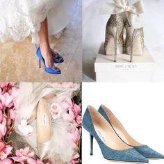 フォロワーさんが結婚式でジミーチュウのウェディングシューズを履かれていて、それからずっと気になっていました. . 調べているうちに、ブルーがあることを発見❗️✨. ジミーチュウ アグネス グリッター パンプス(右下)  ビーチフォトではブルーのパンプスを履きたいなと思っていたので、感動✨. . ですが、こちらBUYMAで見つけたのですがジミーチュウの公式HPには載っておらず.... . どういうことだ〜❓. . 今度お店に確認するか、お値段もなかなかするので、もうちょっと安いので探そうかな. . . #ジミーチュウ#結婚式#ウェディングシューズ#パンプス#プレ花嫁