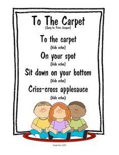 Just a dot- and other classroom chants - Dreams Street Kindergarten 2020 Kindergarten Songs, Preschool Poems, Preschool Music, Preschool Lessons, Preschool Learning, Goodbye Songs For Preschool, Color Songs Preschool, Creative Curriculum Preschool, Teaching