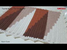 Pin on Tapetes Crochet Rug Patterns, Crochet Designs, Beading Patterns, Cross Stitch Patterns, Love Crochet, Crochet Baby, How To Tie Shoes, Crochet Table Mat, Crochet Carpet