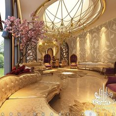 Exquisite Luxury Majlis Interior Design