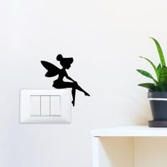 TinkerBell Campanellino Adesivo per interruttore, spina, placca - Light Switch Sticker