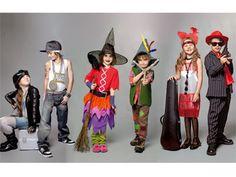 Coole Karnevalskostüme für Kinder | Okay, Prinzessinen und Pirat gehen immer. Aber diese Karnevalskostüme für Kinder wecken garantiert mehr Aufmerksamkeit. Und das Beste: Der Aufwand hält sich in Grenzen.