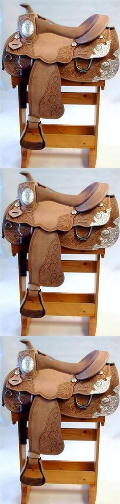 Saddles 47291: Lite Western Pleasure Trail Silver Showman Show Saddle 16 Round Skirt Full Qh -> BUY IT NOW ONLY: $554.8 on eBay!