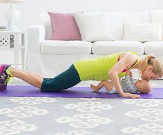 Add the Kiss-Me Push-Up and these 3 other arm-toning exercises to your day to score tank top-ready arms. You can do them all with your baby!