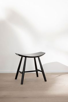 Stool by Ejvind A. Johansson - a classic wooden stool that can be used in the living room as a bed side table or a part of the kitchen interior as an occasional seat. Wooden Stools, Wood Surface, Commercial Interiors, Mid Century Design, Kitchen Interior, Painting On Wood, A Table, Armchair, Dining Chairs