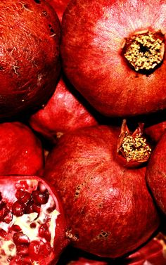 Pomegranate. Designer Inspiration, Seeing Red #BarNapkinProductions