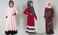 https://flic.kr/p/N6sW2N | New Arrivals in Girls Abayas- EastEssence | Latest in girls abayas at EastEssence at www.eastessence.com/islamic-clothing/girls/.