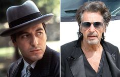 Al Pacino - Everett Collection/REX; Al Pacino Now, Godfather Movie, Then And Now Photos, Celebrities Then And Now, Beauty Magic, Most Handsome Men, Celebrity Houses, Hollywood Walk Of Fame, Best Actor