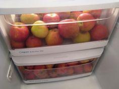 Refrigerate Apples