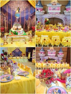 Beauty And The Beast Party Decoration Ideas
