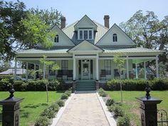 Texas Homes, 30th Anniversary, Victorian Homes, Looking Back, Old Houses, Porches, Beautiful Homes, Georgia, Atlanta