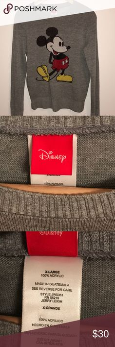 Disney micky mouse long sleeve top Girls size XL. = women size M. New Disney Tops Tees - Long Sleeve