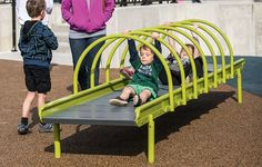 Roller Table - Inclusive Play Element - Freestanding Playground Components