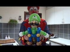 MARIO BROS Y LUIGI.- HOW TO MAKE LUIGI AND MARIO BROS BALLOON. - YouTube