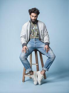 """Ranveer Singh for Elle Man India December 2016 "" Portrait Photography Men, Beauty Makeup Photography, Editorial Photography, Fashion Photography, Photography Hacks, Photography Magazine, Deepika Ranveer, Ranveer Singh, Man About Town"
