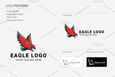 Eagle Logo by Naveed on Creative Market