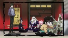 Alluka's playing with sailor moon and tuxedo mask figurines!! makes it even…