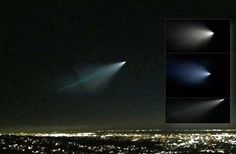 The mysterious object brilliant seen in the sky in the entire California and Nevada (Videos)
