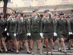 Military Woman Wallpaper