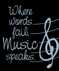 I love music. Music is my life. If I cant talk, let me sing. Let me play the piano or flute. If I dont know an instrument, let me try it anyways. Music is my creative outlet, my stress reliever, and my love. Let me make music and you will see ME. ... and, very simply, thats who I am.