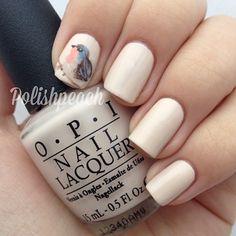 Bird Nails by Instagrammer @polishpeach