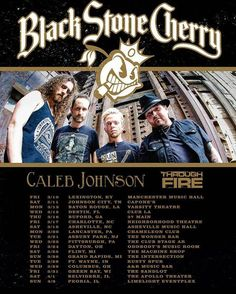 Less than 3 days away from @blackstonecherry & @tfiremusic spring tour! Freaking pumped to throwdown with these badass bands! Some shows are sold out and close to be selling out ! Get your tickets now before it's too late ! Can't wait wait to see you at a show ! Much love and rock on \m/ <3 \m/ #rocknroll #tour #throughfire #blackstonecherry #southernrock #badass #spring