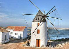 The  Quintín Windmill -in La Mota.San Pedro del Pinatar - Murcia -Spain