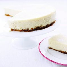 "Make ""Baked Lemon Cheesecake"" delicious cake and enjoy the birthday party."