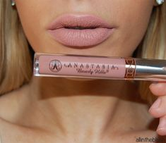 Anastasia Pure Hollywood Liquid Lipstick - Review & Swatches