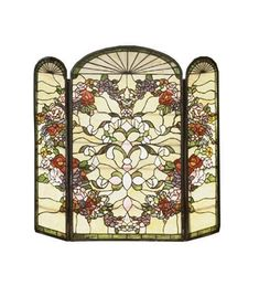 Meyda Tiffany 47991 Heart Folding Fireplace Screen