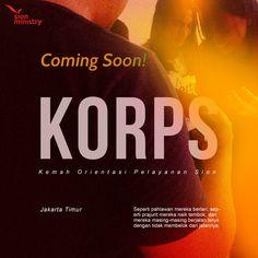 Poster Design for KORPS Sion Ministry East Jakarta