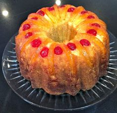 I saw this ingenious idea for converting one of my favorite cakes from the usual Upside-Down Pineapple Cake to a Bundt version and had to...